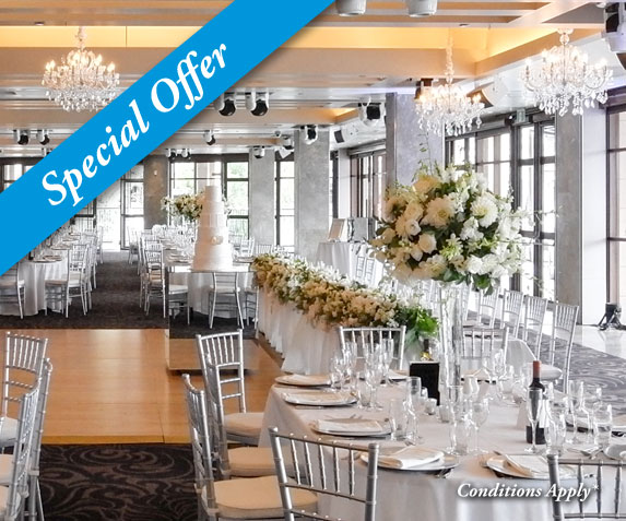 30% off Summer Weddings in Darling Harbour