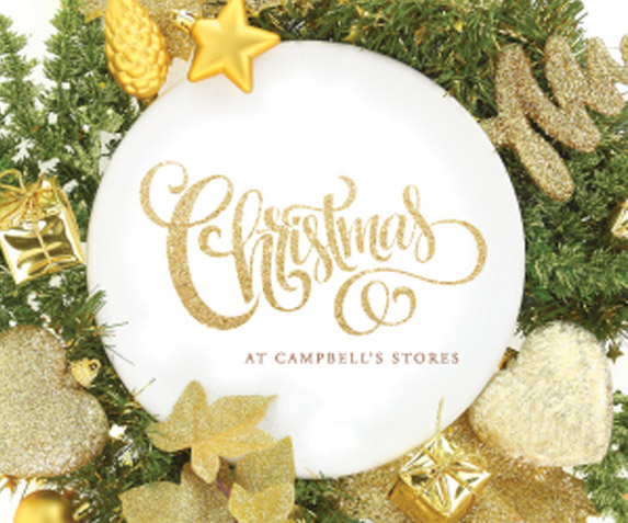 Christmas Day at Campbell's Stores