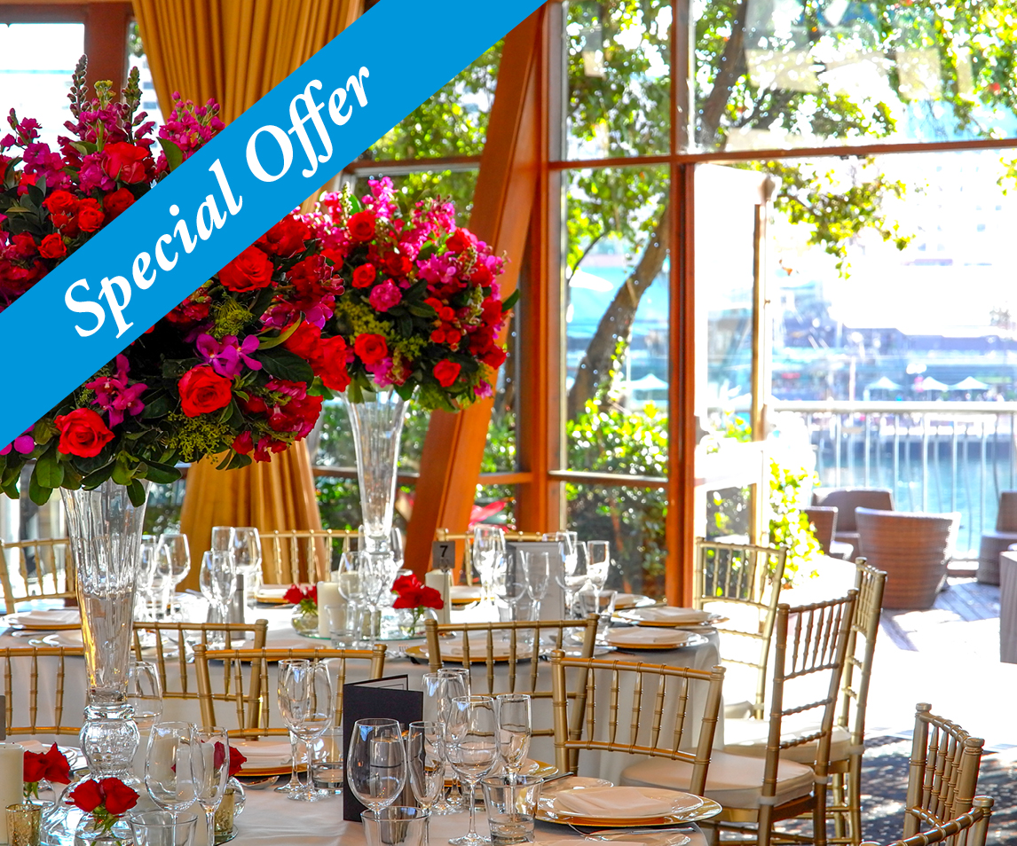 Special Occasions In Darling Harbour from $79pp