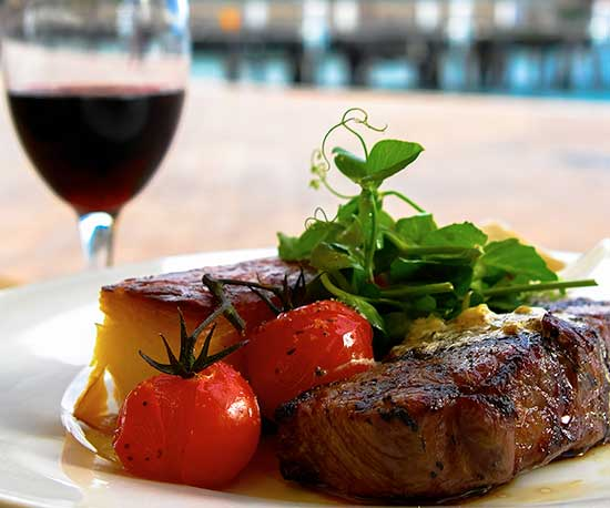 Wolfies Steak Night- Thursday $33.00