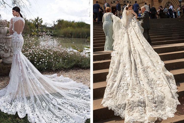 Top 5 wedding trends spotted on instagram for Wedding dress instagram