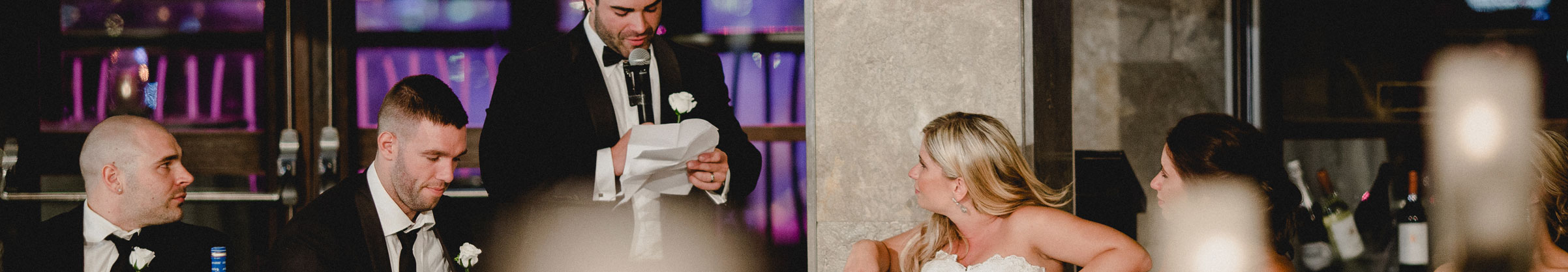 Do's and Don'ts of a Groom's Speech