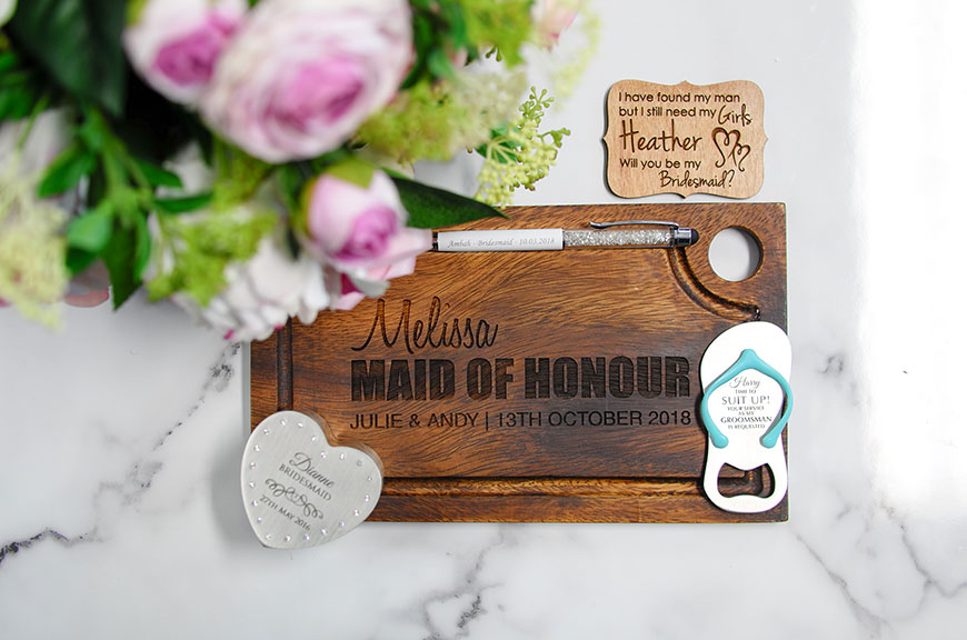 RULES OF BRIDAL PARTY GIFT GIVING!